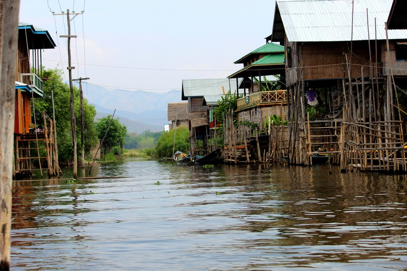 Inle See Dorf